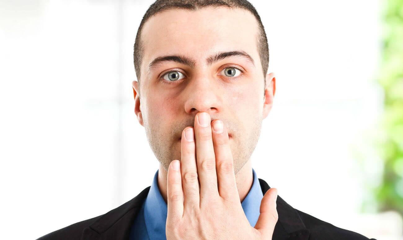 неприятный запах изо рта желудок лечение