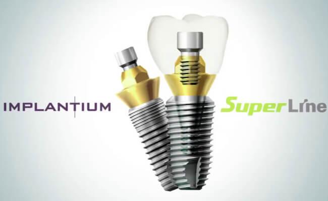 Фото корейских имплантов зубов Dentium