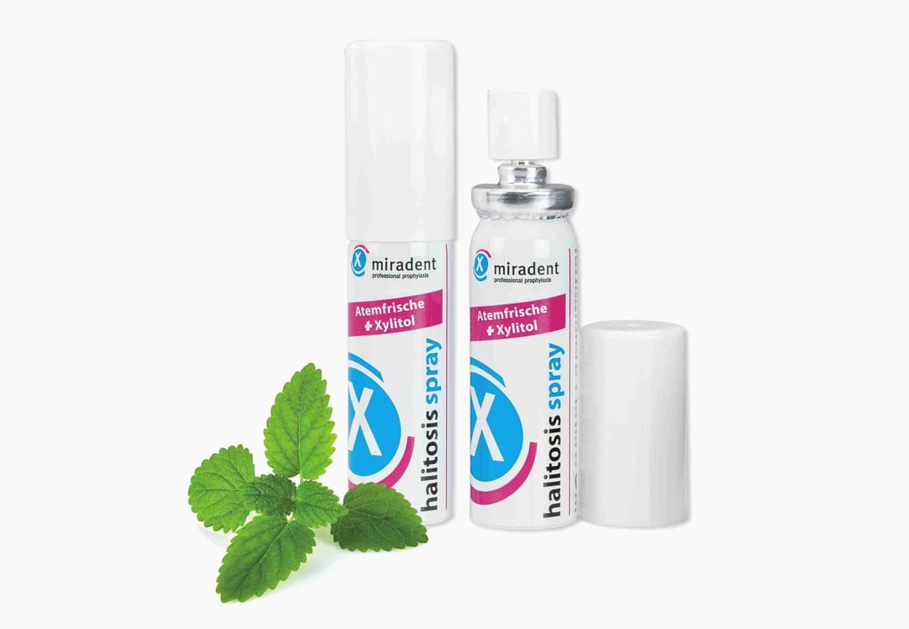 Фото спрея Halitosis spray Miradent