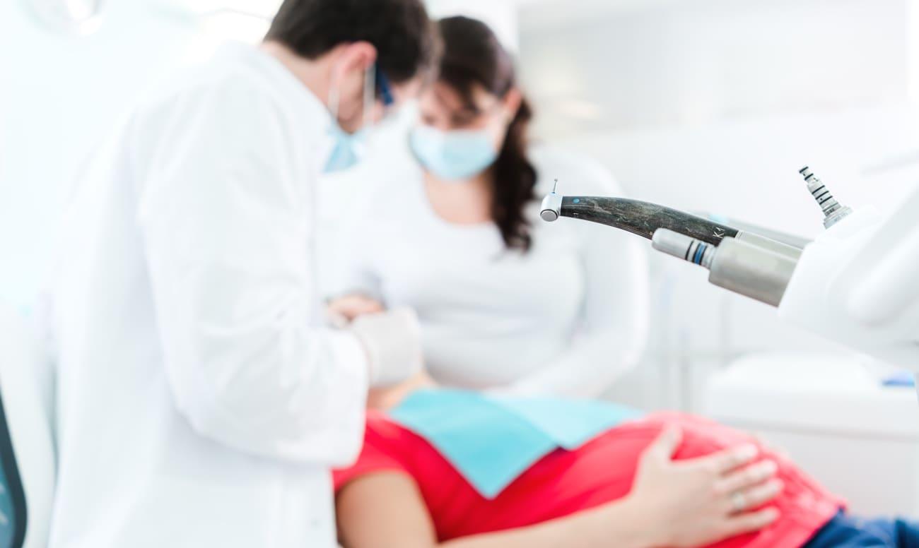 Фото лечения зубов беременным