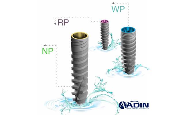 Фото зубных имплантов ADIN Израиль
