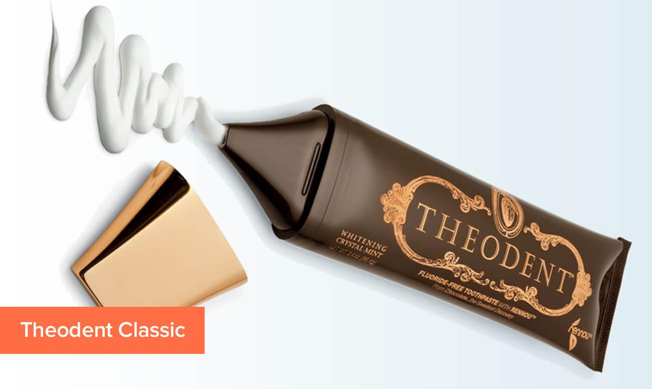 Фото зубной пасты с теобромином Theodent Classic