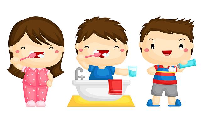 картинки чистить зубы для детей