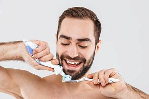 Российская зубная паста стала брутальной
