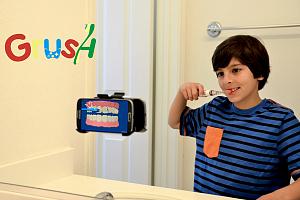 Интерактивная щетка для детей